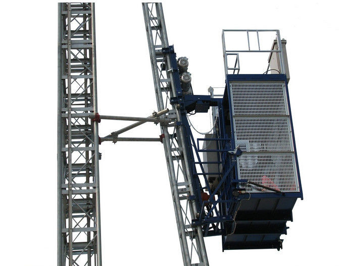 Customized Construction Hoist Elevator , Durable Construction Passenger Lift